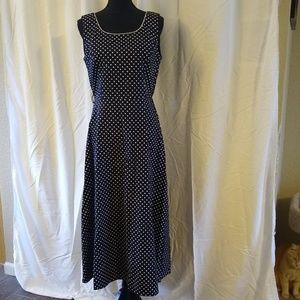 Coldwater Creek polkadot dress